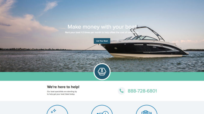 make money renting your boat