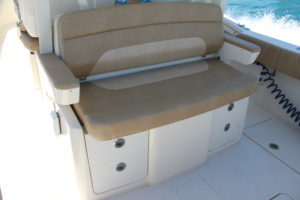 Scout 350 LXF back seat