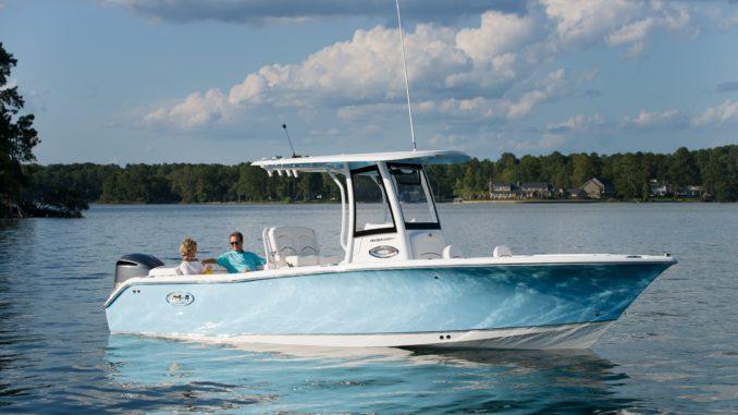 Sea Hunt_Boat and Garmin