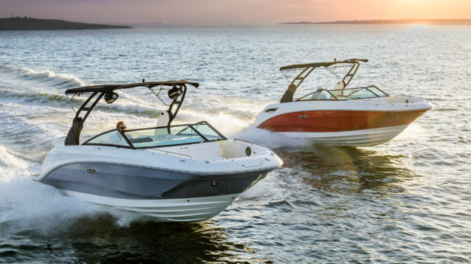 Sea Ray SDX 250 Outboard and inboard