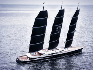 Black-Pearl-Dynarig-Yacht - Yacht and Sea