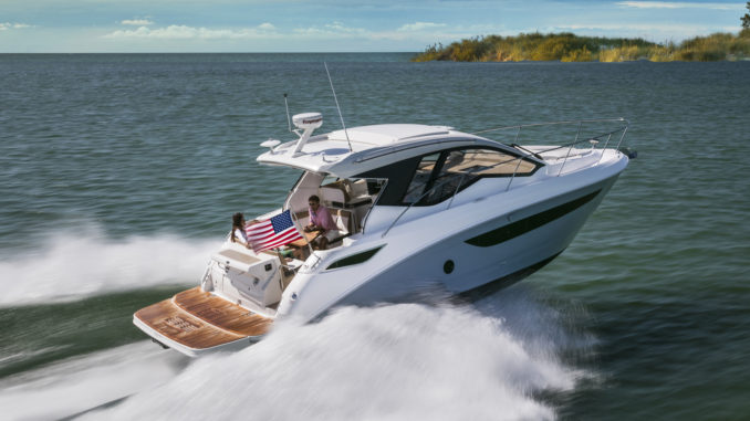 Sea Ray sundancer 350 Coupe - yacht and Sea