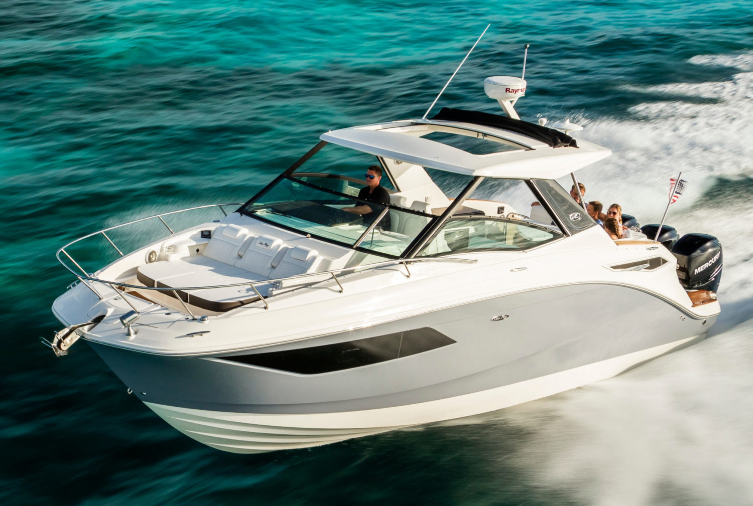 Sea Ray Just Launched The Sundancer 320 Outboard