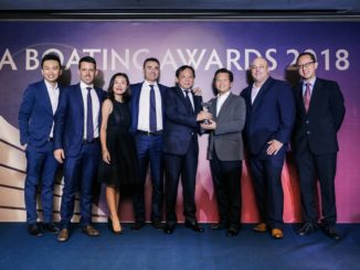 Azimut Award Asia 2018 - yacht and sea