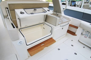 Boston Whaler 350 Realm - cooler