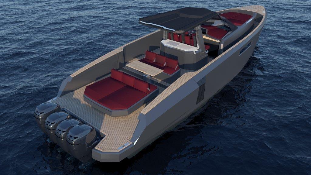 Evo Yachts_Evo CC rendering