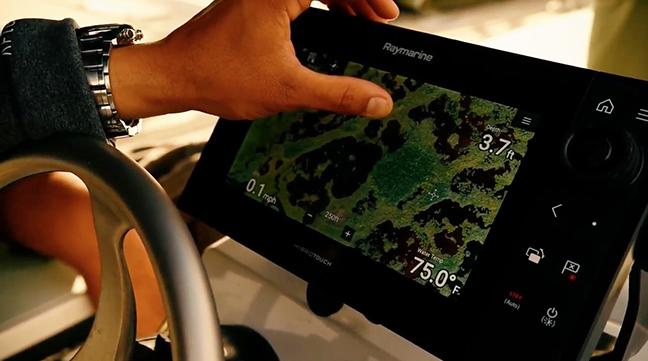 Raymarine Axiom Pro display