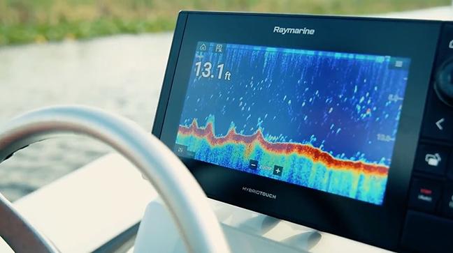 Raymarine Axiom Pro screen