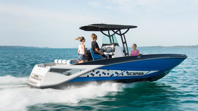 Scarab 255 Open running