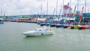 Volvo Penta self docking yacht 1