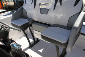 Scarab 255 Open leaning-post