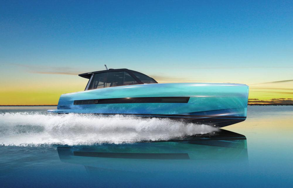 Fjord 44 coupé side