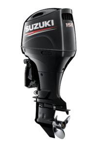 New Suzuki DF150A in black