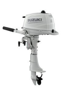 New Suzuki DF6A in white - Yacht and Sea
