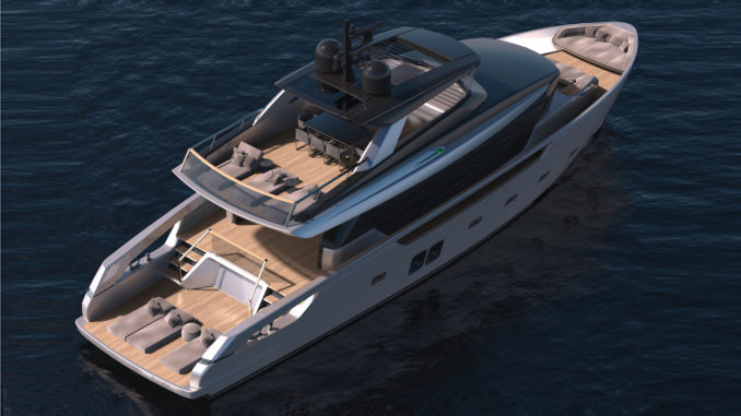 Sanlorenzo SX76 - sky view - Yacht and Sea