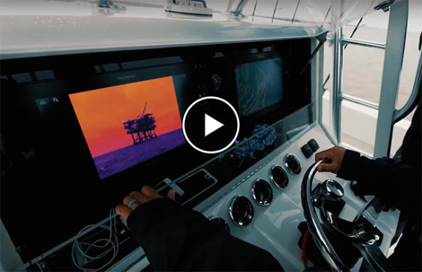 Raymarine - Flir Captain Moe Newman - yacht and sea
