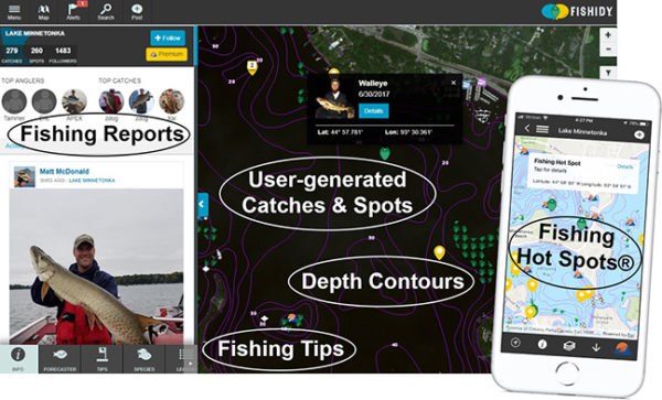 Fishidy premium mapping 2 - Yacht and Sea
