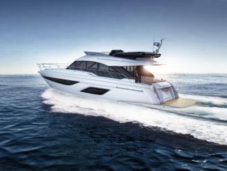 Bavaria R 55fly - yacht and sea