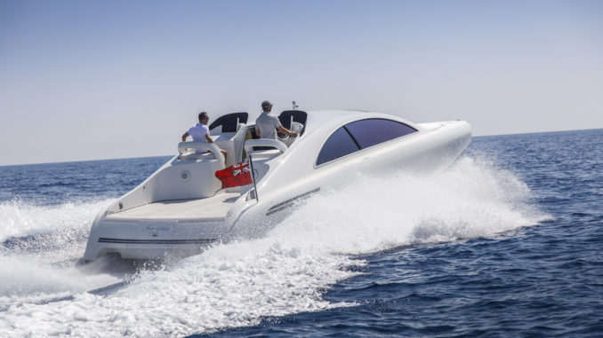 Mercedes silver Arrows 460 Granturismo - running 1 - Yacht and Sea
