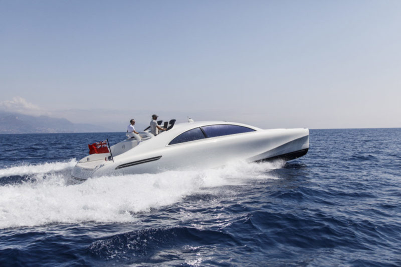 Mercedes silver Arrows 460 Granturismo - running 2 - Yacht and Sea