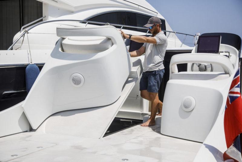Mercedes silver Arrows 460 Granturismo - interior 2 - Yacht and Sea