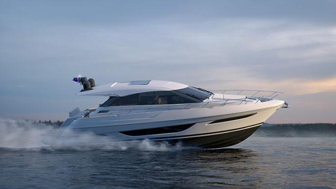 Maritimo_X50_Running - yacht and sea