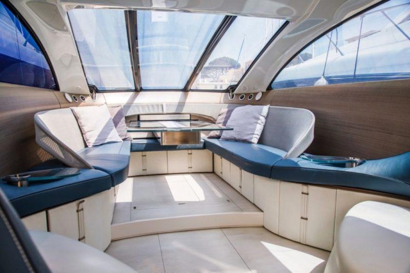 Mercedes silver Arrows 460 Granturismo - interior 1 - Yacht and Sea