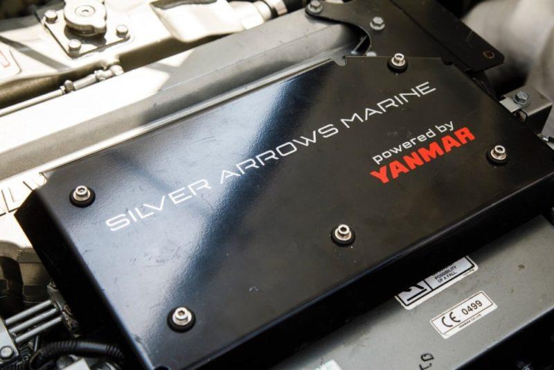 Mercedes silver Arrows - Yanmar engine - Yacht and Sea