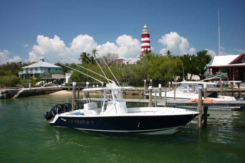 Abaco 1 - Bahamas - yacht and sea