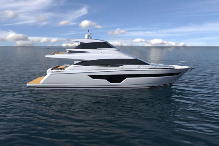 Johnson-70-02 - yacht and sea