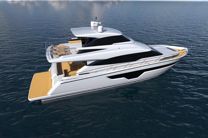 Johnson-70-04 - yacht and sea