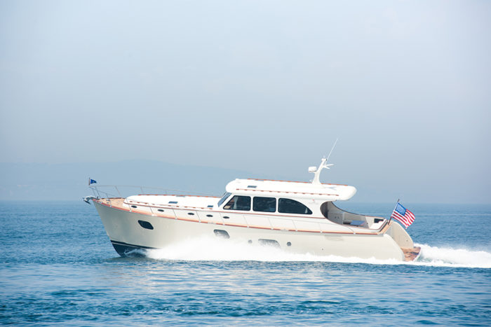 Vicem 65 IPS Classic running 2 - yacht and sea