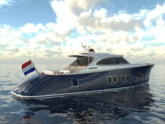 Zeelander Z72 back - yacht and sea