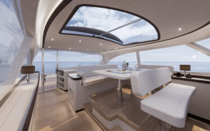 Zeelander Z72 interior 2 - yacht and sea
