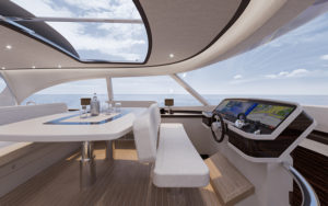 Zeelander Z72 interior 1 - yacht and sea