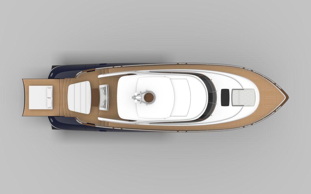 Zeelander Z72 layout - yacht and sea