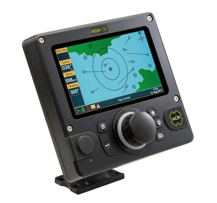 ACR Electronics - AISLink CA2 - Left Angle - yacht and sea