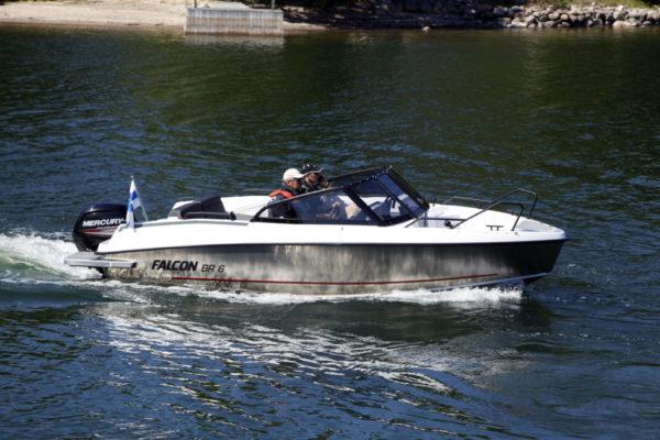 Falcon BR6 - 1 - yacht and sea