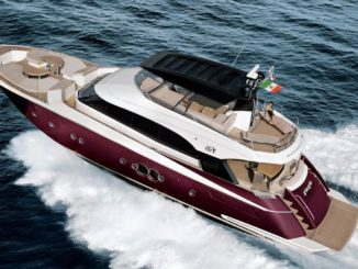 MonteCarlo Yacht 76 - yacht and sea
