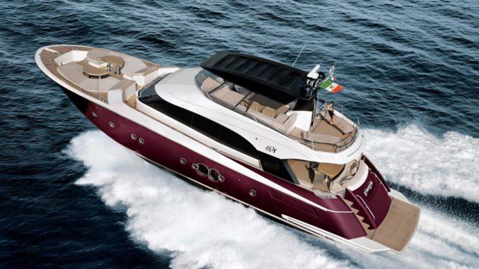 MonteCarlo Yacht 76 - yacht and sea