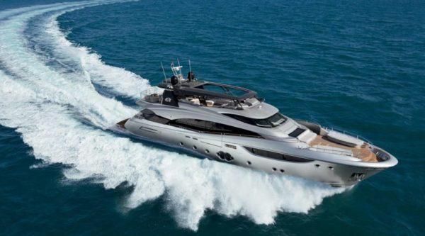 MonteCarlo Yacht 105 - yacht and sea