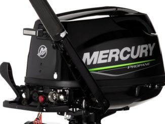 Mercury 5hp propane engine - yacht and sea