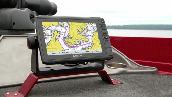 Garmin ECHOMAP Plus with g3 - yacht and sea