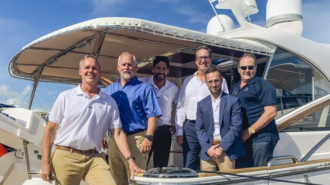 Riviera yachts and Sun Marine Team