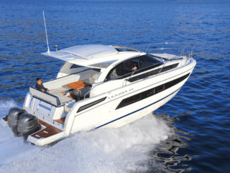 Jeanneau leader 33 OB - yacht and sea