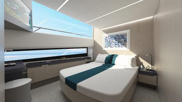 Cetera 60 bedroom - yacht and sea