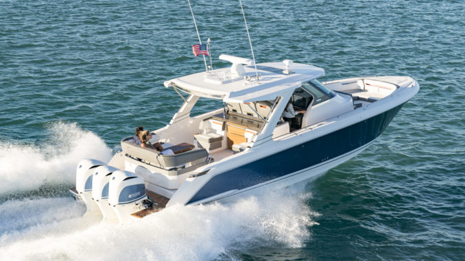 Tiara Sport 38 LS - 1 - yacht and sea