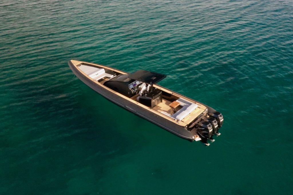 Technohull Omega 45_6 - yacht and sea