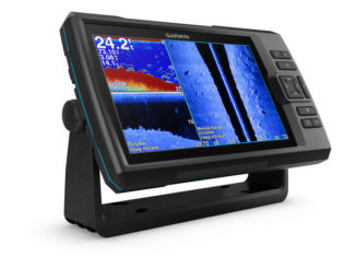 Garmin Striker Plus 9SV - yacht and sea
