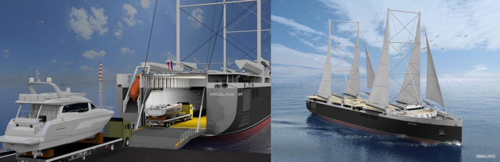 Beneteau group - Neoline - yacht and sea